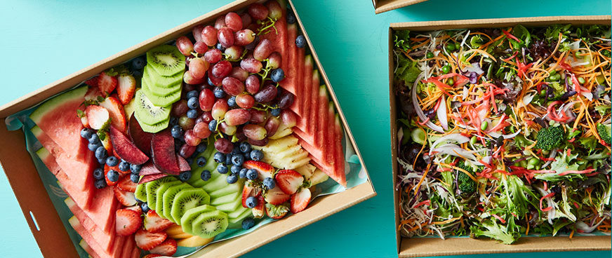 healthy office catering